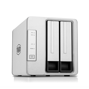 Image 2 - 2 Bay HDD NAS 2bay NAS per la Casa Ufficio SOHO di Storage di Rete Cloud Server 1Gb di Memoria 1 * RJ 45 G Ethernet Funzione Raid