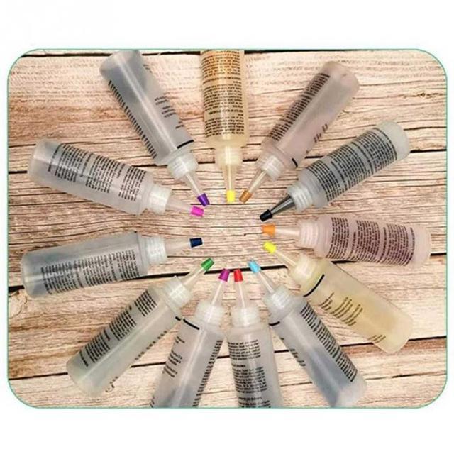 8 Colors Clothes Permanent Paint Tie Dye Kit Pigment Party Supplies Bottle Home Hademade DIY Clothing bag t shirt