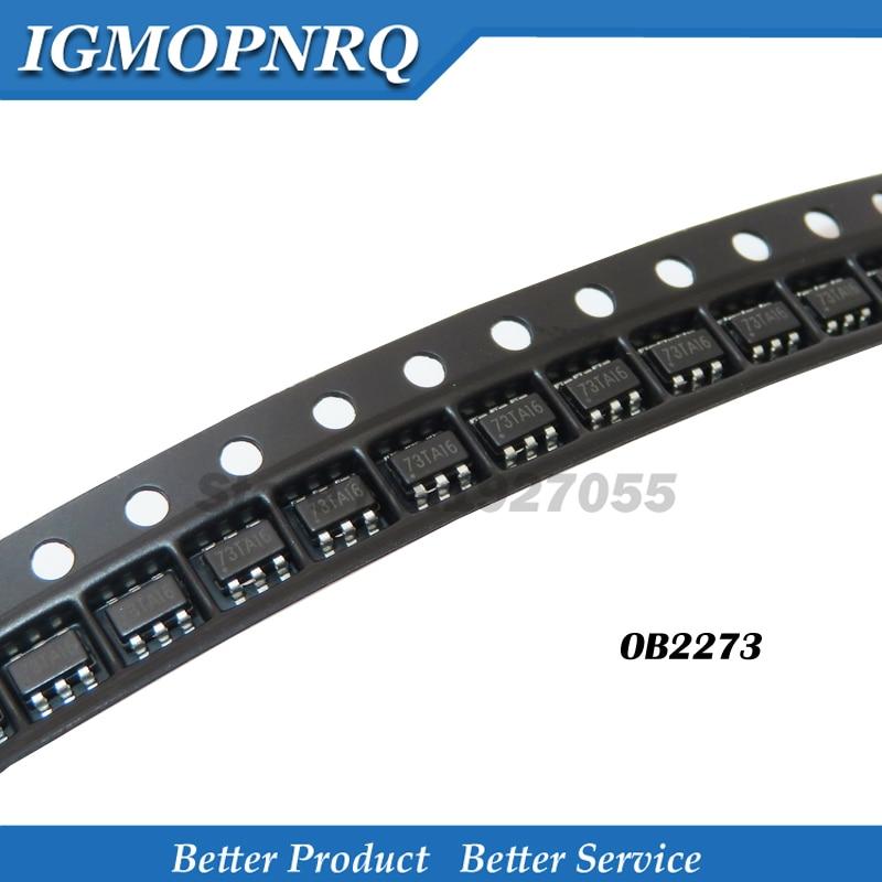 10 шт./лот, модуль управления ЖК-дисплеем OB2273MP, 2273, SOT23, SMD, 6 футов, оригинал, 73TA16