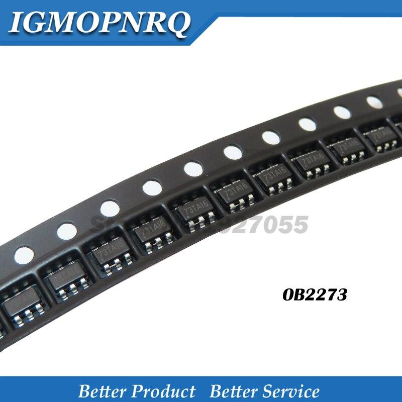 10pcs/lot OB2273MP SOT23-6 OB2273 SOT-23 LCD management module 2273 SOT23 SMD 6 feet new original 73