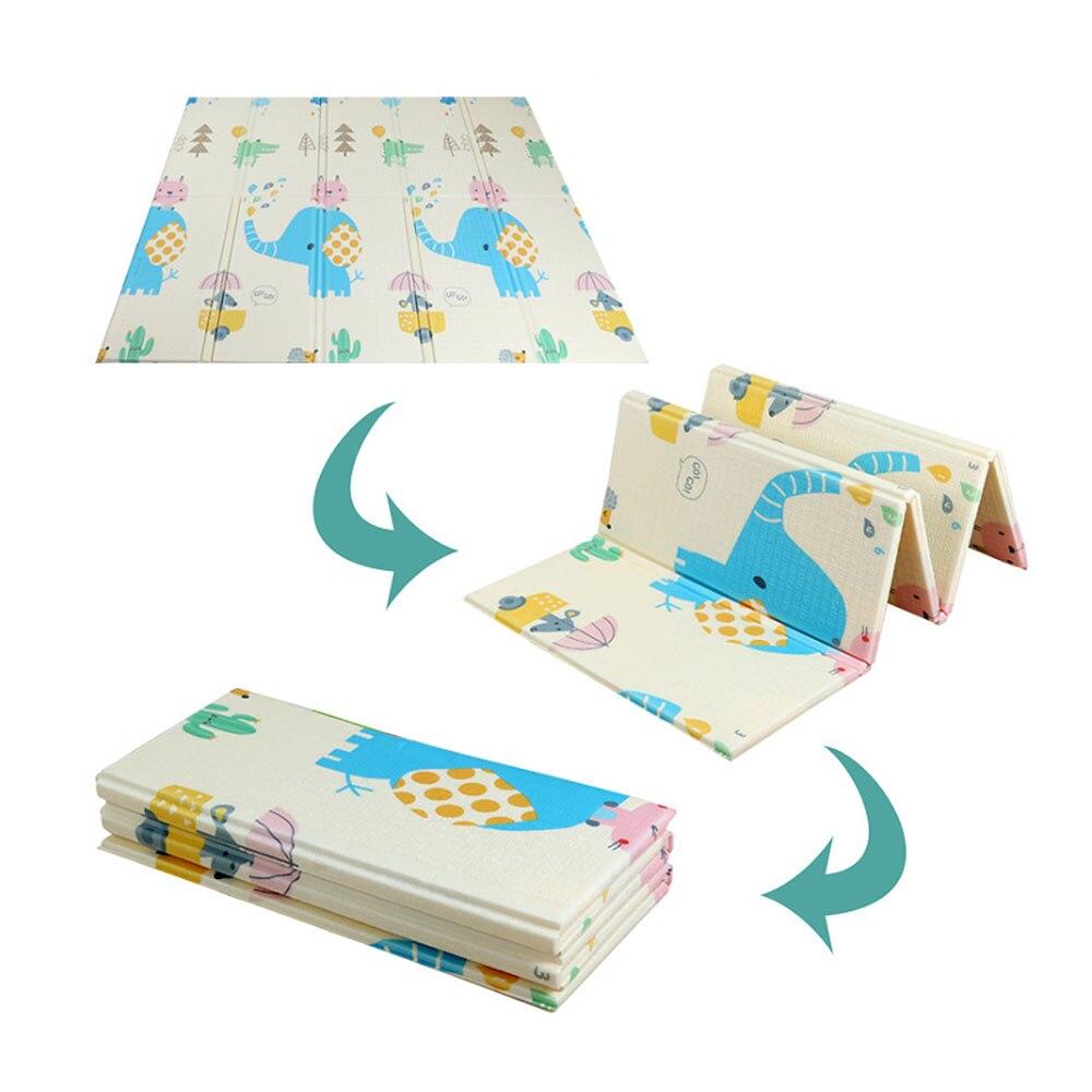 200*180*1cm Portable pliable bébé escalade Pad bébé jouer tapis mousse Pad XPE environnement insipide salon jeu couverture