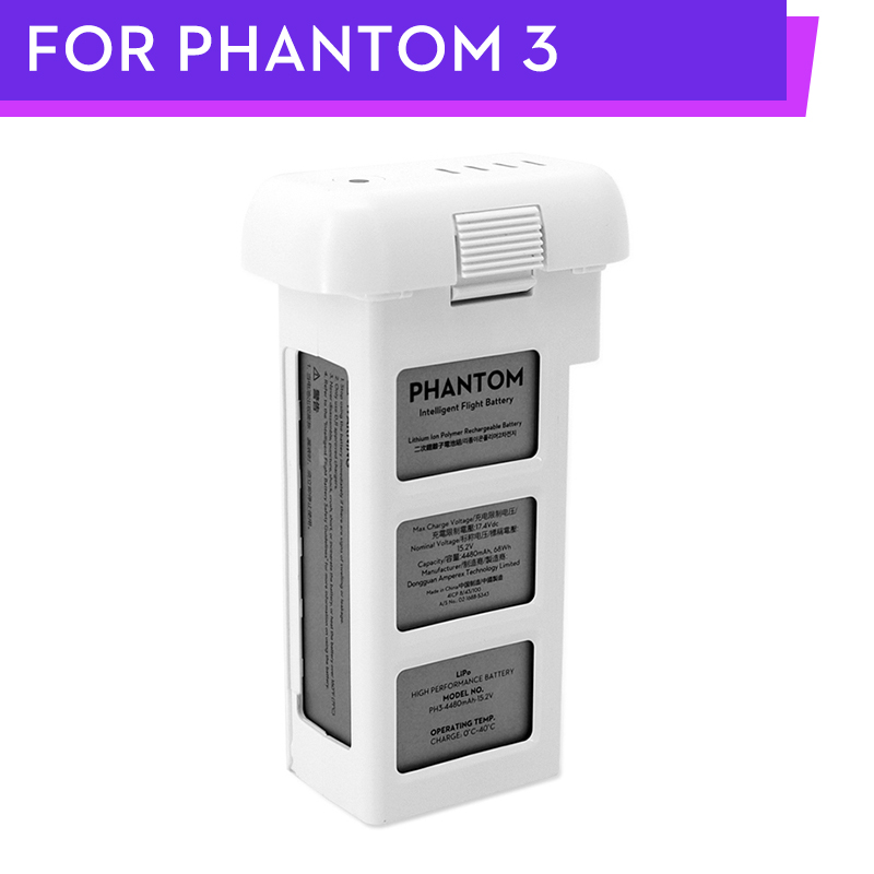 Original Phantom 3 Series Professional Advanced Drone Intelligent Flight Battery 4480mAh 15.2V LiPo4s For DJI Phantom 3 Series