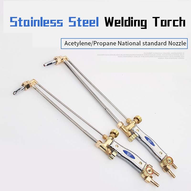 Stainless Steel Welding Torch  G01-30   100 Cutter With Oxygen Acetylene Jet Suction Soldring Cutting Torch High Strength Nozzle