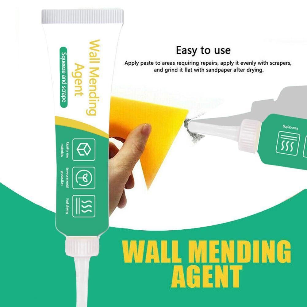Valid Mould Proof Wall Mending Agent Wall Repair Cream Restore Quick-drying Crack Repair Ointment Mending Nail Patch Wall W C7M6