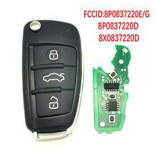 Chiave a distanza per Auto Datong World per Audi A3 S3 TT A4 S4 2005-2013 anni numero parte 434Mhz 48 Chip chiave di controllo intelligente automatica