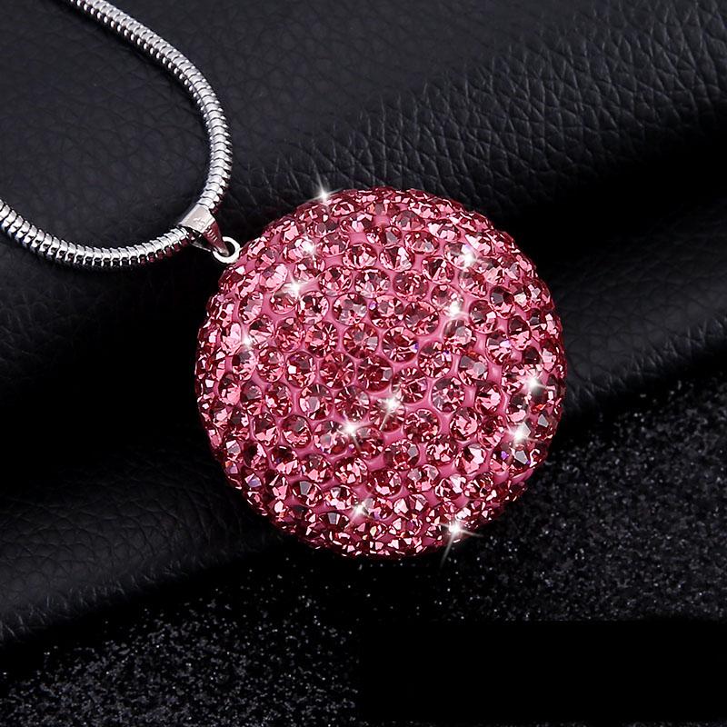 Bling-Car-Rear-View-Mirror-Pendant-Crystal-Ball-Rhinestone-Hanging-Ornament-For-Mini-Cooper-Car-Charm-Decoration-8