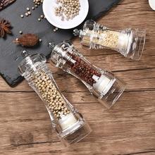Kitchen-Tool Pepper-Mill Acrylic Grinder Manual-Crusher Ceramic-Core Cruet Multifunctional