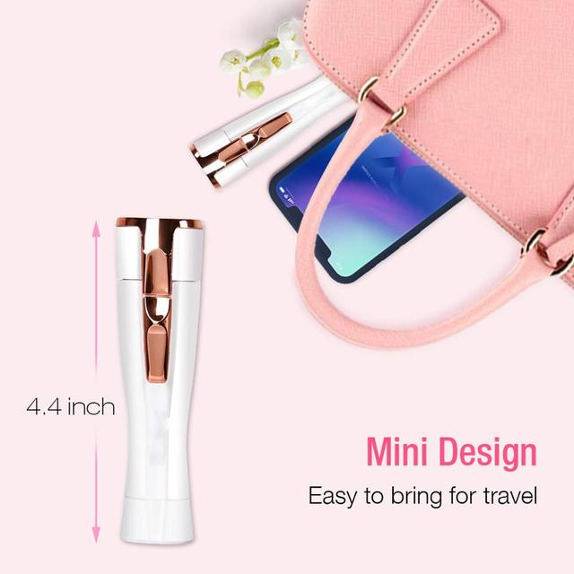 Women's Electric Eyebrow Epilator Professional Hair Removal Eyebrow Trimmer Machine Depilation Razor For Hair Facial Epilator 1