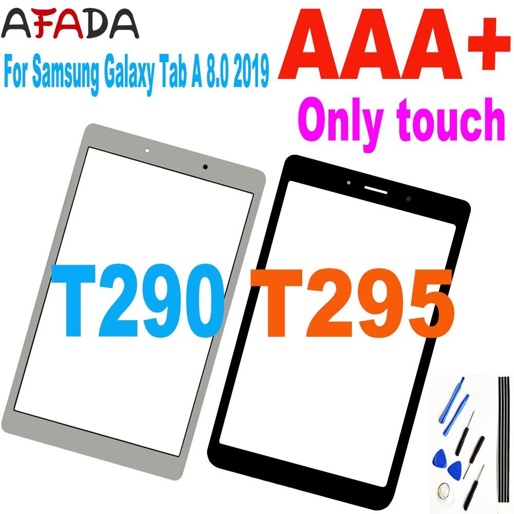Сенсорный экран с цифровым преобразователем для Samsung Galaxy Tab A 8,0 дюйма, 2019 Φ, T290, T295, стеклянный сенсор, сменный сенсорный ЖК-экран