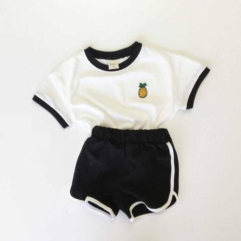 2020 infantil recem nascido criancas roupas conjunto bonito
