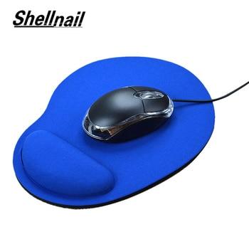 Tappetino per Mouse con poggiapolsi per Computer portatile Notebook tastiera tappetino per Mouse con poggiapolsi tappetino per Mouse gioco con supporti per polso 1