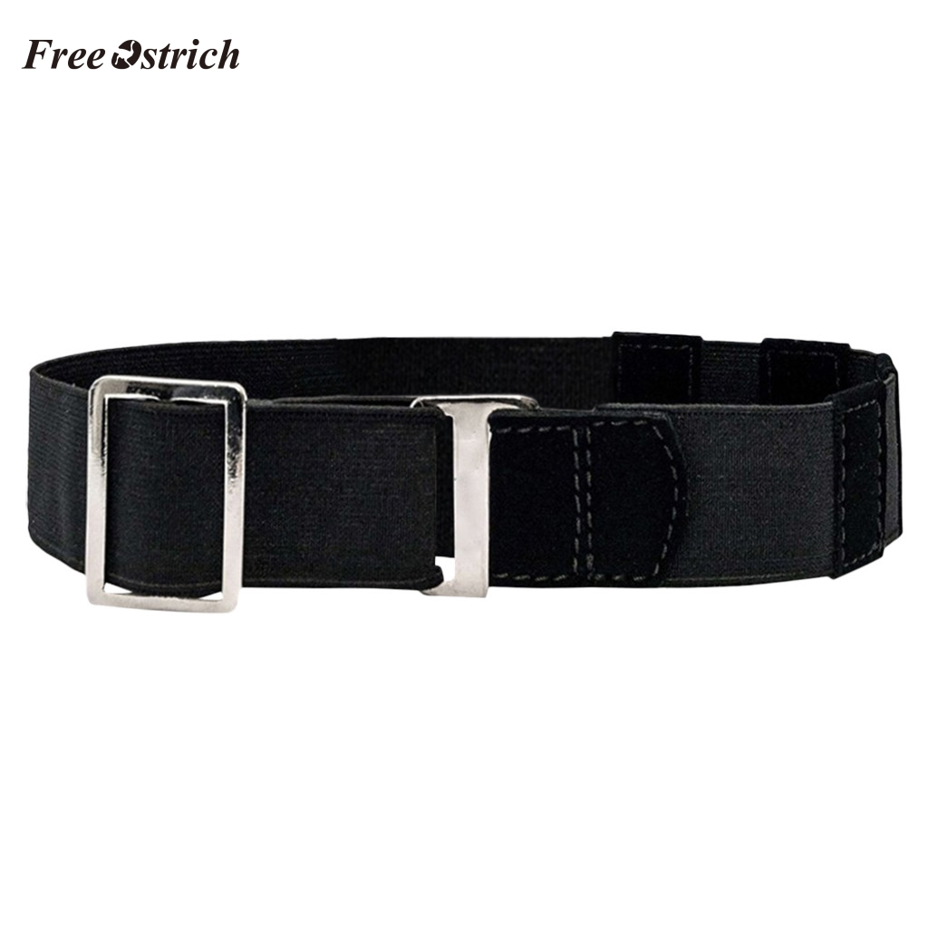 Gray Ostrich High Quality Fashion Dress Belt