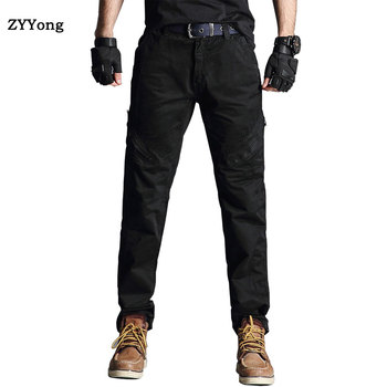 Men Cargo Pants 2020 New Spring Tactical Pants Casual Cotton Trousers Men Multi Pockets Military Army Track Pants Men