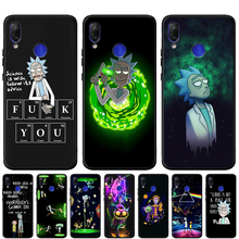 Anime Rick and Morty Cartoon Anime Case For Xiaomi