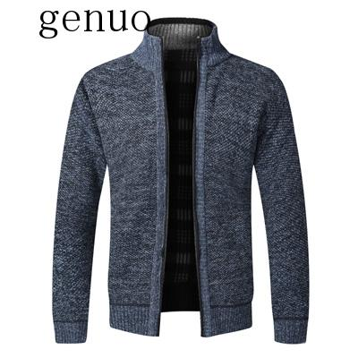 Men's Sweaters Winter Men Thick Warm Knitted Sweater Jackets Cardigan Coats Male Casual Slim Fit Knitted Clothing