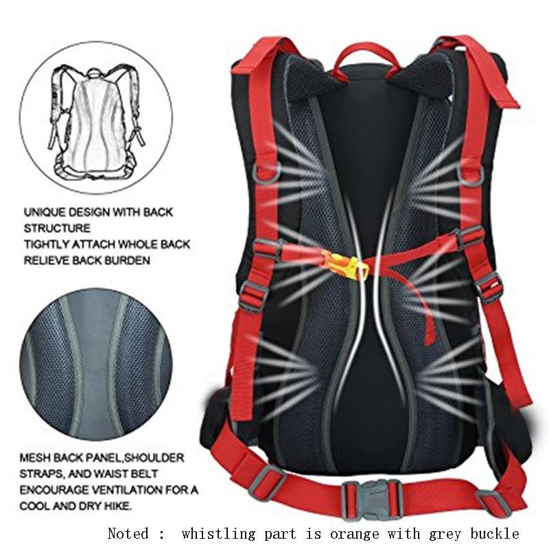 60l Camping Hiking Travel Riding Waterproof Hiking Backpacks 6