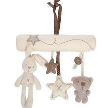 Lovely Baby Bed Hanging Bell with BB Cartoon Animal Music Play Box Interesting S