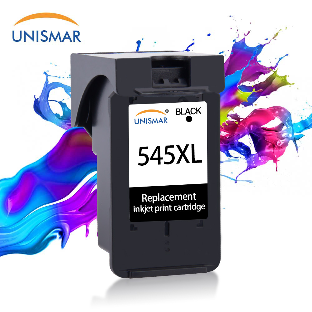 Unismar PG545 Black Replacement for Canon Ink Crtridges PG 545 PG545XL for Pixma TR4550 TS3140 TS305 TS3150 TS3151 IP2850 MX495|Ink Cartridges| |  - title=