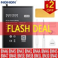 NOHON بطارية ل Xiaomi Redmi ملاحظة 8 8T 7 5 4 4X 3 برو 2 الهاتف Bateria ل Redmi 7 4 برو 4A 4X 3S 3 مي 8 9 مزيج 2 POCOPHONE F1