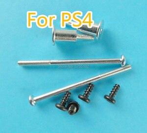 Image 1 - 1 zestaw do konsoli PS4 Slim obudowa zestaw wymiennych śrub zasilających pełny zestaw śrub cienki pokrowiec śruby