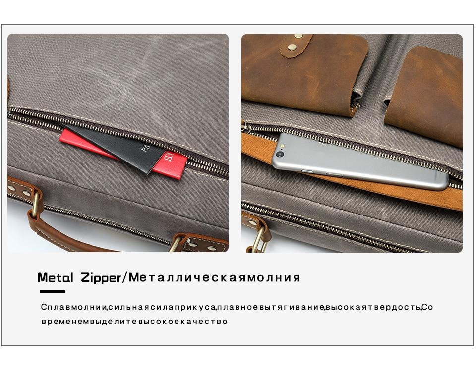 Hf033eb7bd5404643a17d3d36dbcff3acI WESTAL Men Briefcases Men's Bag Genuine Leather Business Office Bags for Men Laptop Bag Leather Briefcases Male Lawyer Bags