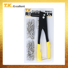 T.K.EXCELLENT 1Pcs Rivets Gun Tool And Rivets Set Woodworking Screw 3.2*10 4*13.5 Rivets Screw Tools 150Pcs