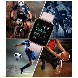 Image 3 - SENBONO P8 2020 GTS Women Men Smart Watch IP67 Waterproof fitness tracker Heart Rate Blood Pressure Monitor Smartwatch