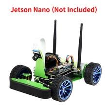 JetRacer AI سباق روبوت عدة Acce مدعوم من جيتسون نانو ، التعلم العميق ، القيادة الذاتية ، خط الرؤية التالية (لا جيتسون نانو)