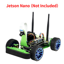 JetRacer AI Racing Robot Kit Acce Powered by Jetson Nano,Deep Learning,Self Driving,Vision Line  Following (No Jetson Nano)