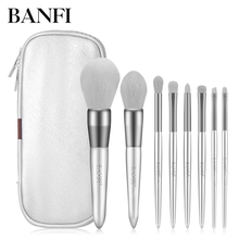 8pcs/set Professional Makeup Brushes Set Powder Foundation Eye shadow Blush Blending Lip Make Up Beauty Cosmetic Tool Kit new 5pcs fashion toothbrush makeup brushes set kit professional beauty shaped oval cream foundation lip beauty tool
