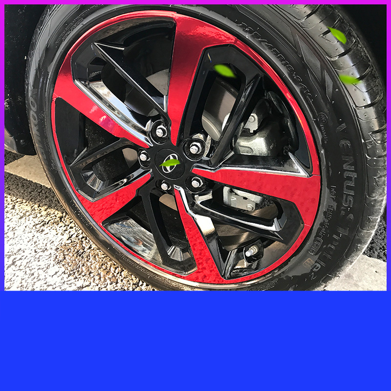 Lsrtw2017 Car Styling Wheel Hup Sticker for Hyundai Encino Kona 2018  2019 2020