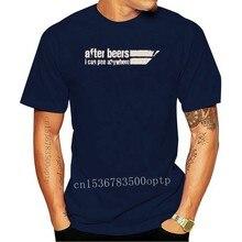 T-shirt «I Can Pee Anywhere» à Manches courtes pour Homme, avec alcool, bière, S, XXXXL et 5XL