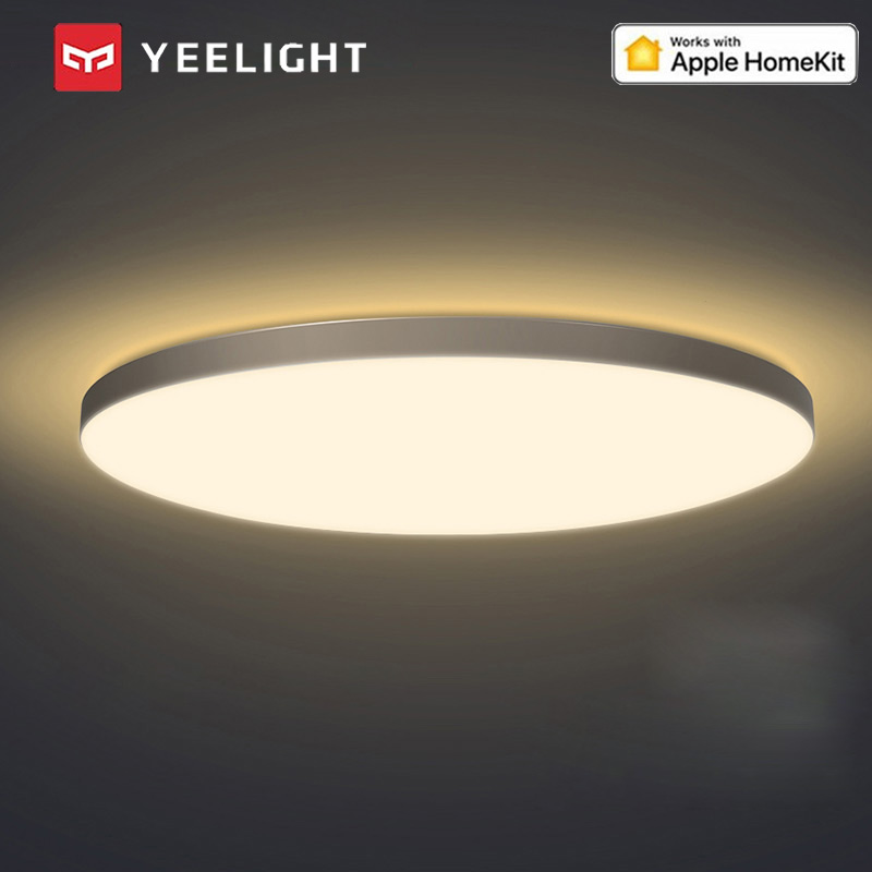 Yeelight Smart Modern LED Ceiling Lamp Light With RGB Backlight Indoor Lighting Support Homekit Mijia APP For Living Room