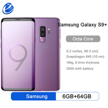Samsung Galaxy S9 + S9 Plus G965F G965U Entsperrt 4G Android Handy Octa Core Snapdragon 845 6.2