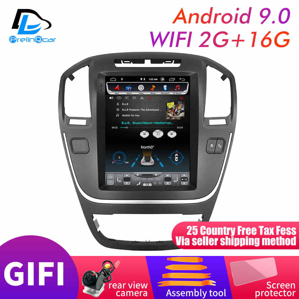 32G ROM Vertical screen android 9 0 system car gps