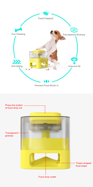 Interactive Pets Training Feeder For Puppies 2