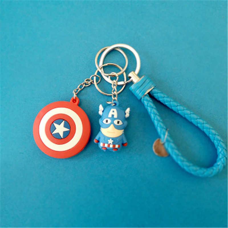 Vingadores: endgame Caráter do Homem-Aranha Homem De Ferro Capitão América Cosplay Adereços Brinquedo Keychain Halloween Party Baile Gel De Sílica PVC