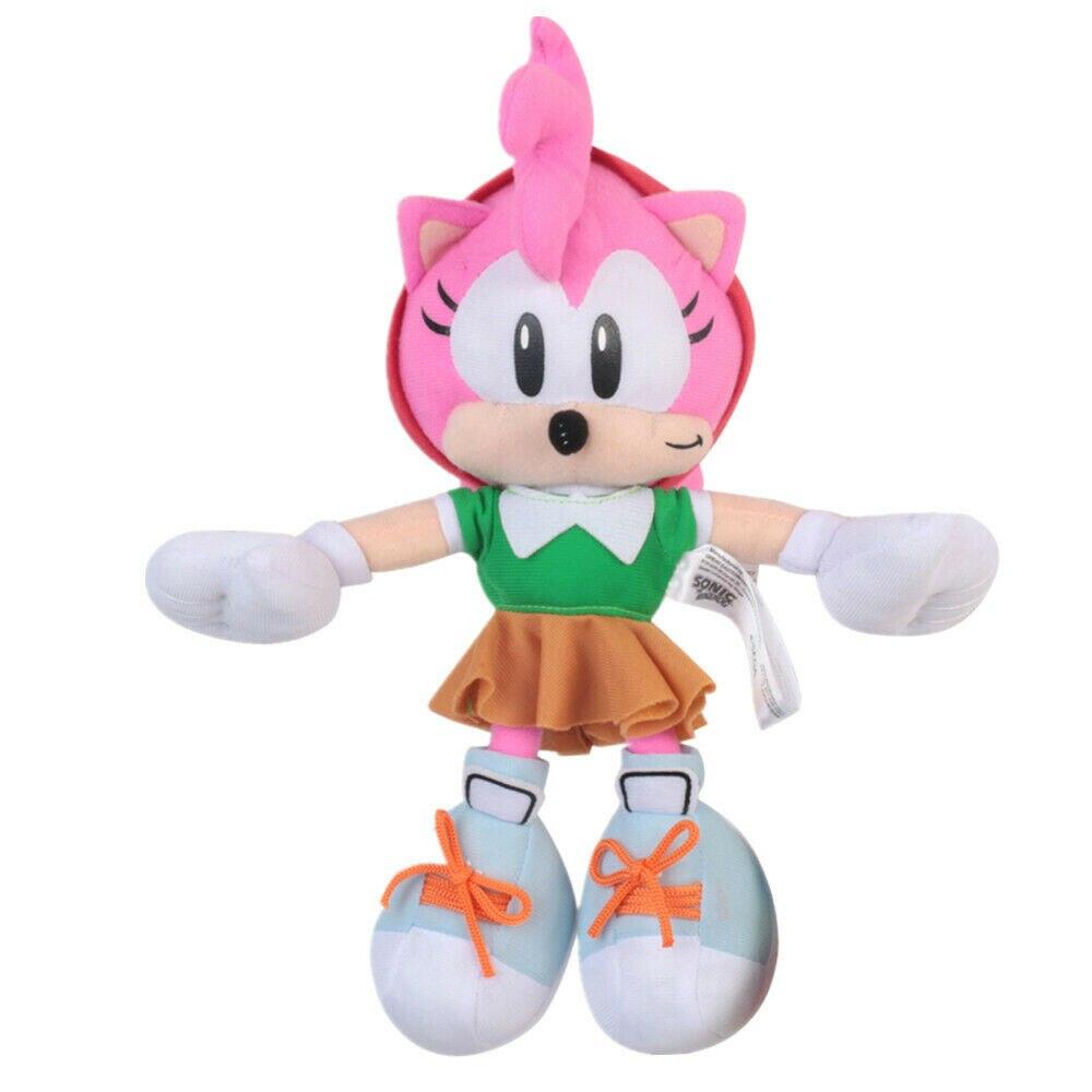 Новый аниме розовый озорной милый Amy Rose плюшевая Мягкая кукла чучела животных детей рождественские игрушки Дети 11 дюймов подарки