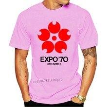 Expo '70 Japan Retro Seventies Logo Graphic Design G200 Ultra Cott