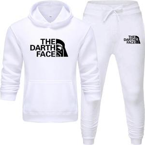 New Men Hoodies Suit Tracksuit Sweatshirt Suit Fleece Hoodie+Sweat pants Jogging Homme Pullover 3XL Sporting Suit Male