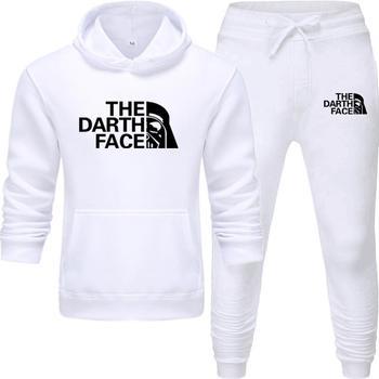 Yeni erkekler Hoodies takım elbise eşofman kazak takım elbise polar Hoodie + ter pantolon koşu Homme kazak 3XL spor takım elbise erkek
