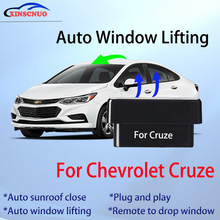 Car OBD Window Closer For Chevrolet Cruze 2009-2016 Auto Lift Device Remote Control Close Open Pause Windows plug and play ns modify universal car power window roll up closer for 4 doors auto close windows remotely close windows car accessories