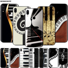 Music Piano Keyboard Case for Xiaomi Redmi Note 8 MI 3 6 8 9 A1 A2 A3 8A 6X 9T CC9 Lite SE Pro Max F1 10(China)