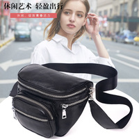 Women Genuine Leather Casual Pouch Cellphone Bag Multi Compartment Practical Bags Large Fanny Designer Waist Pack Bum Belt Bag