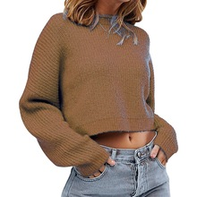 Womens Sweaters 2019 Autumn Winter Tops Turtleneck Sweater Loose Pullover Jumper Solid Knitted Pull Hiver Truien Dames