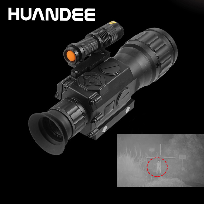 HUANDEE night vision hunting scope  Infrared Night Vision Scope  Optical Monocular  Waterproof Mini Portable  Focus Telescope