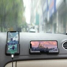 цена на Car Phone Holder Accessories sticker For audi a4 a5 a6 b5 b6 b7 q3 q5 q7 rs quattro s line c5 c6 tt sline a3 a7