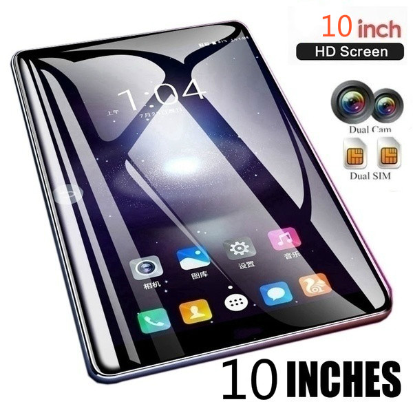 New 10 Inch Ten Core 4G Network WiFi Tablet PC 6G+128GB Android 8.0  Arge 1280*800 IPS Screen Dual SIM Dual Camera Rear 5 MP