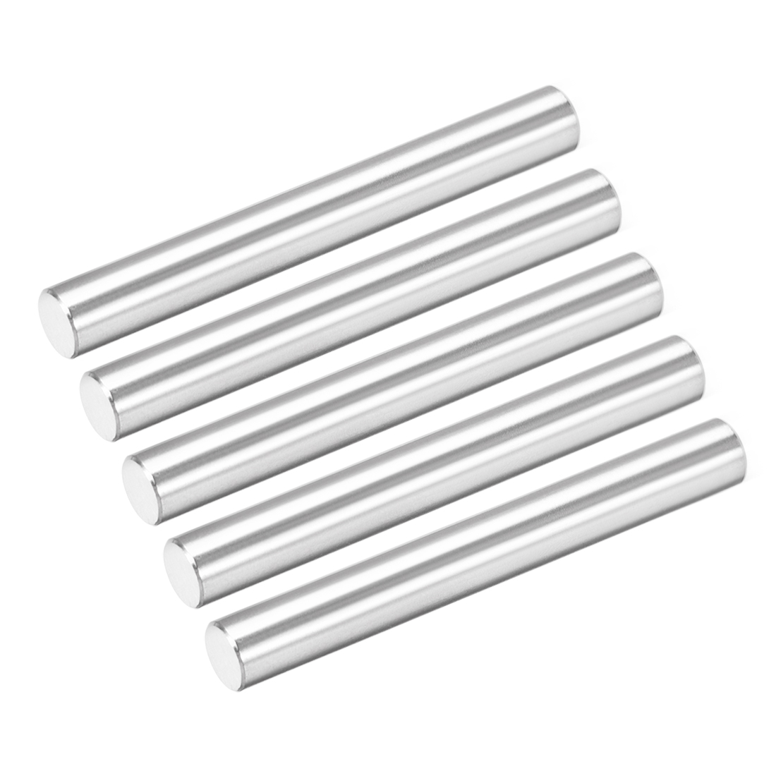 Uxcell 5Pcs 6mm X 50mm Dowel Pin 304 Stainless Steel Cylindrical Shelf Support Pin