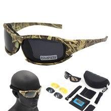 Lunettes De soleil polarisées De randonnée, Camouflage tactique, Airsoft, lunettes De tir, pêche, Oculos De Sol Masculino